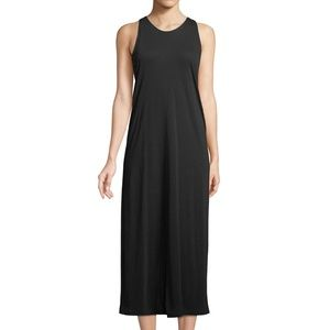 NWT Vince Twist Back Midi Tank Dress Large Black